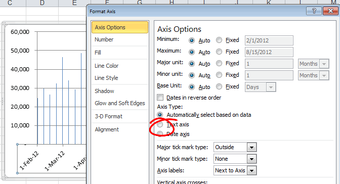 как сделать черно белую диаграмму в excel 2007