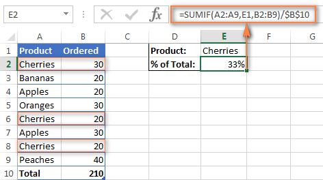 как сделать числа в процентах в excel