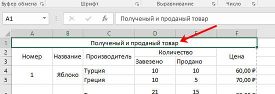 как сделать чтобы заголовок таблицы повторялся на каждой странице excel