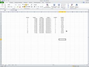 как сделать электронные таблицы excel