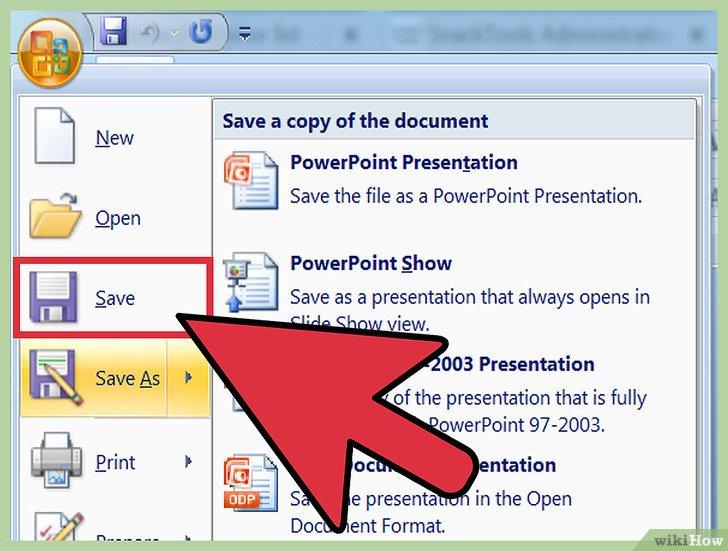 как сделать фото из презентации powerpoint