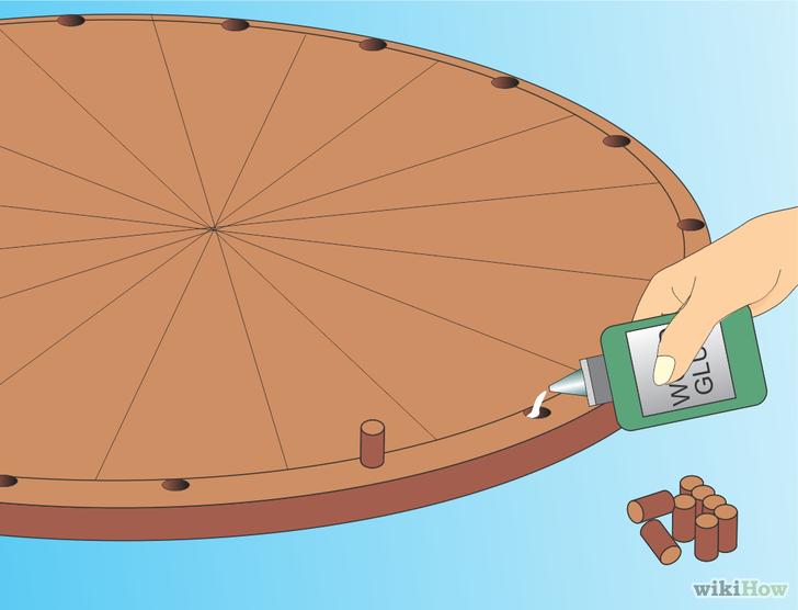 как сделать колесо фортуны в powerpoint