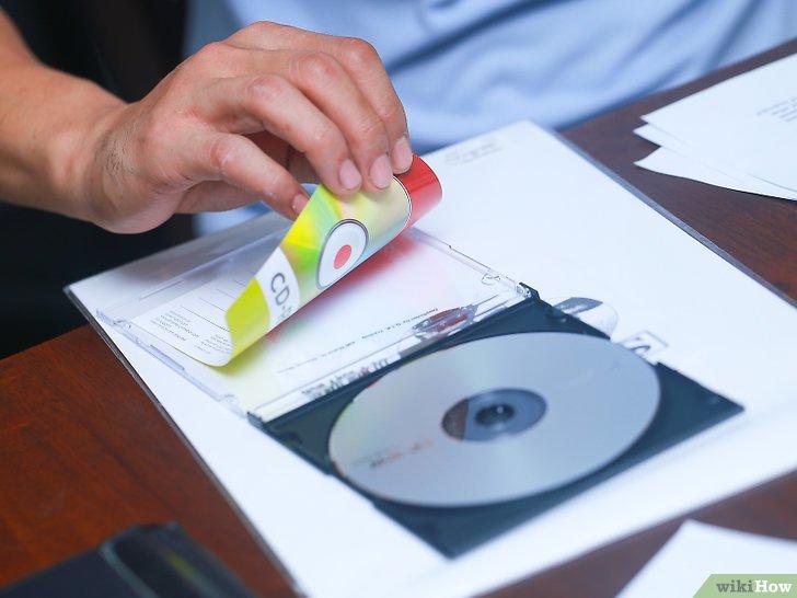 как сделать обложку для cd диска в powerpoint