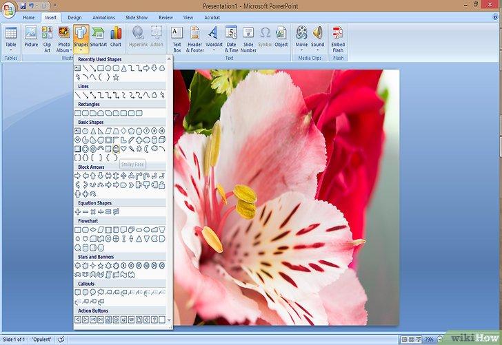 как сделать открытку в powerpoint