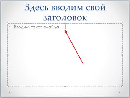 как сделать подсписок в powerpoint