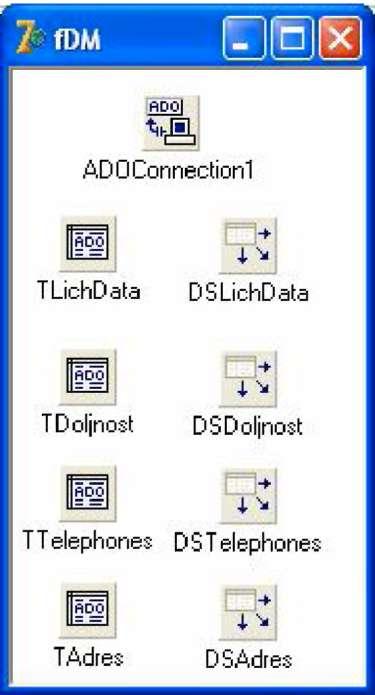 как сделать поиск в delphi из таблицы access