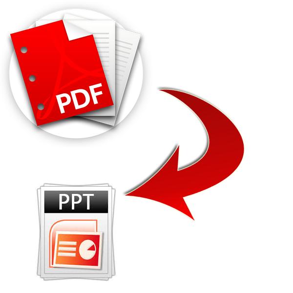 как сделать презентацию из pdf в powerpoint