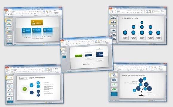 как сделать структуру организации в powerpoint