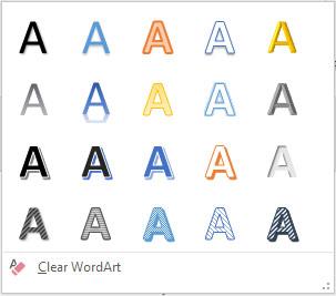 как сделать wordart в powerpoint