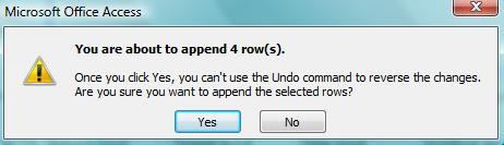 как сделать запрос на добавление в access