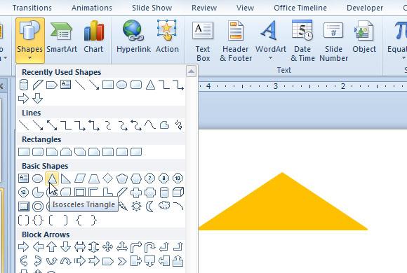 как сделать 3d пирамиду в powerpoint