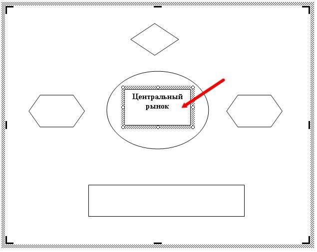 как сделать блок схему в word 2003