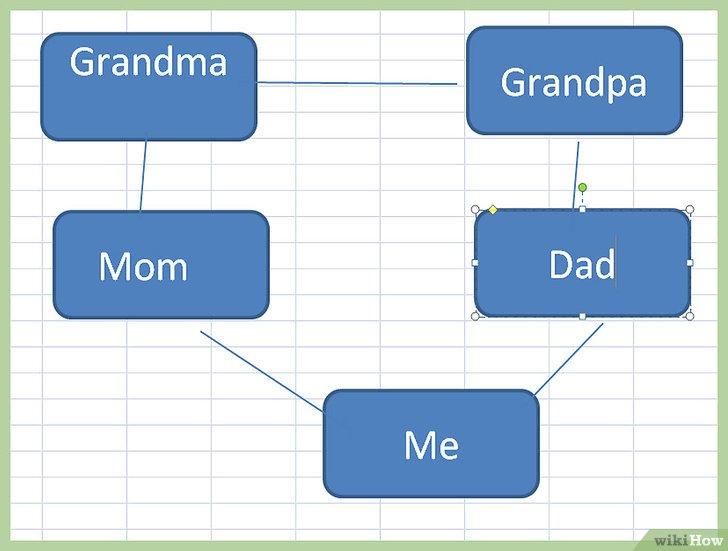 как сделать дерево данных в excel