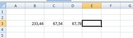 как сделать десятичные числа в excel