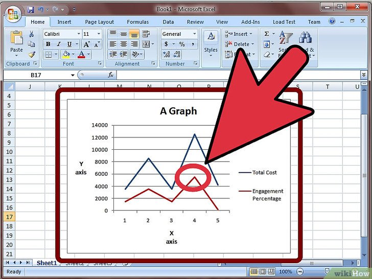 как сделать дополнительную ось в диаграмме в excel