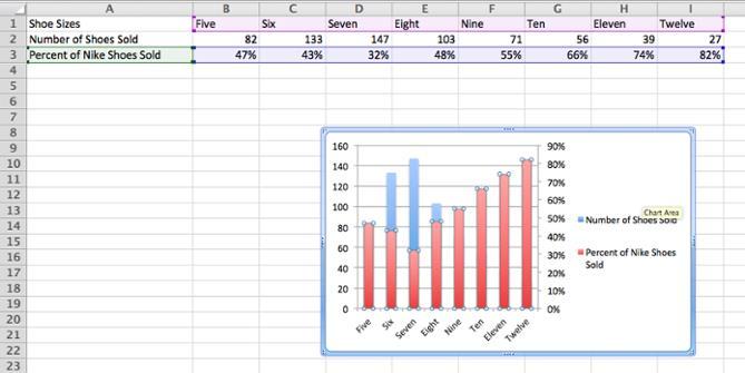 как сделать дополнительную ось в excel 2010