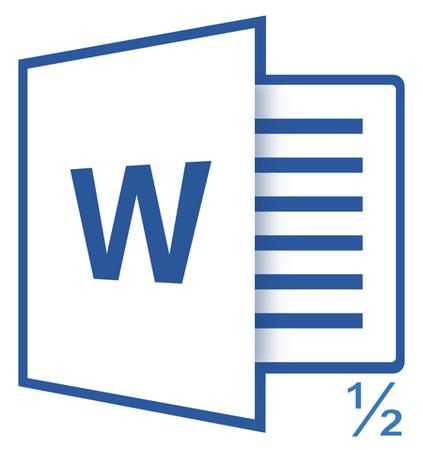 как сделать дробь в word 2013