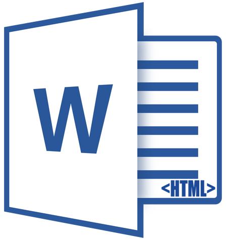 как сделать html в word