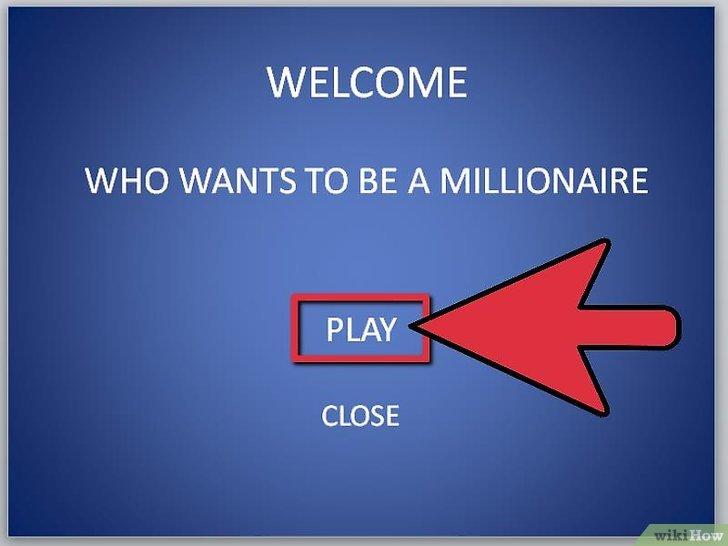 как сделать игру кто хочет стать миллионером в powerpoint