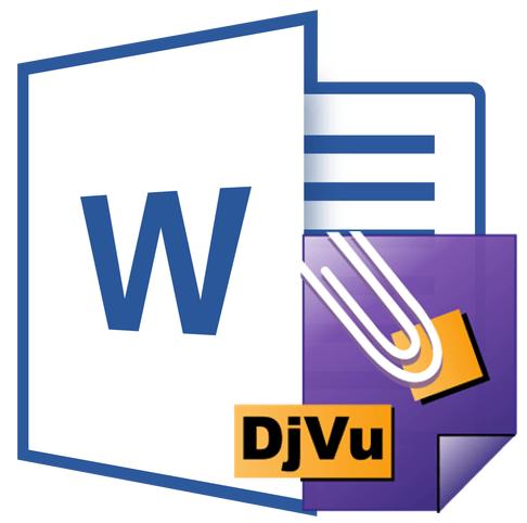 как сделать из djvu в word