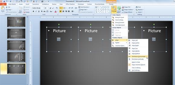 как сделать каталог в powerpoint