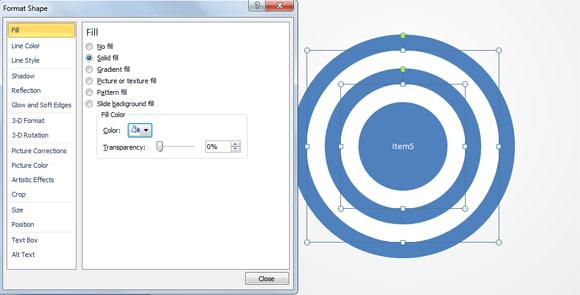как сделать круги эйлера в powerpoint