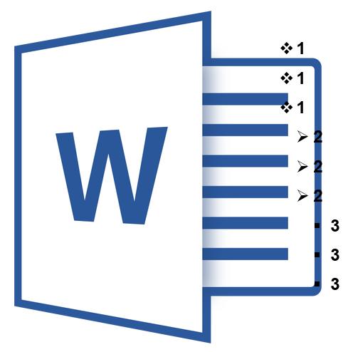 как сделать многоуровневый список в word 2003