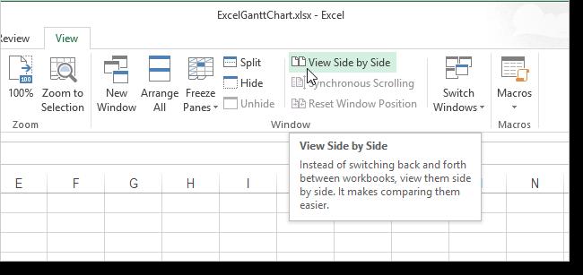 как сделать окна каскадом в excel