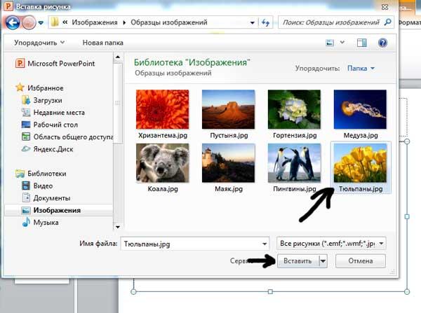 как сделать отражение картинки в powerpoint