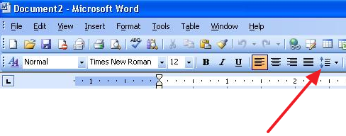 как сделать полуторный интервал в word 2007