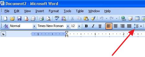 как сделать полуторный интервал в word