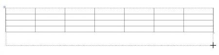 как сделать разную ширину столбцов в word