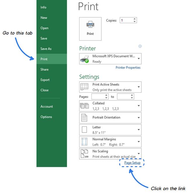 как сделать сетку в excel видимой на бумаге