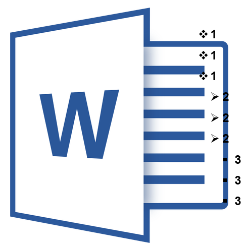 как сделать список в word 2010
