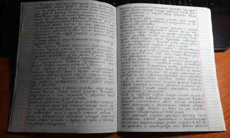 как сделать в word тетрадь