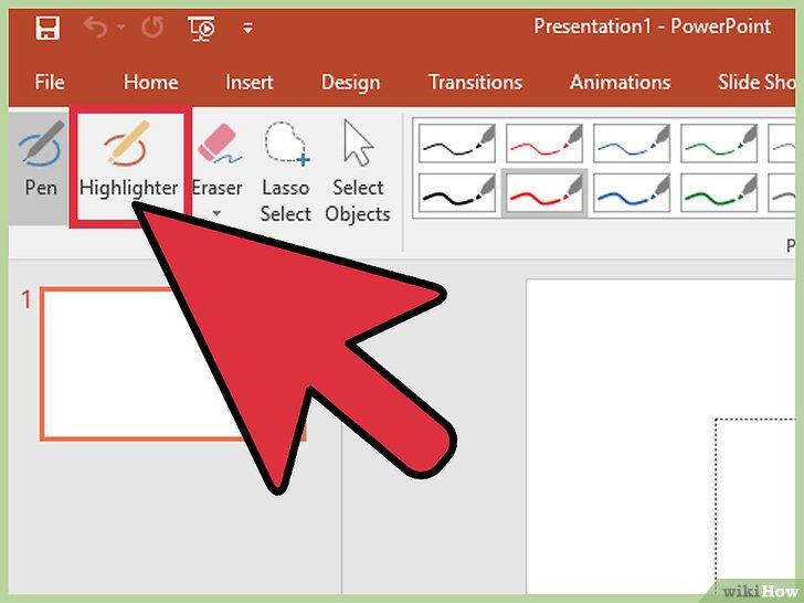 как сделать волнистую линию в powerpoint