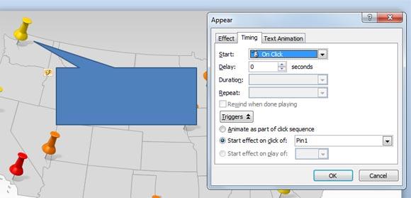как сделать всплывающую подсказку в powerpoint