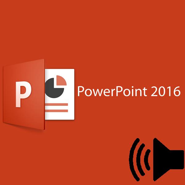 как сделать звук в презентации powerpoint 2003