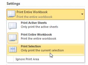 как сделать чтобы таблица не разрывалась при печати в excel