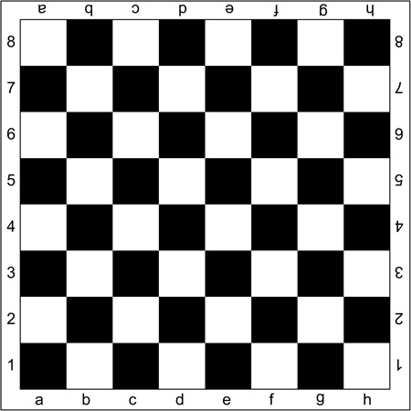 как сделать шахматную доску в word
