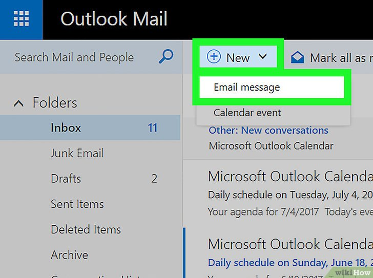 как сделать в excel ссылку на письмо в outlook