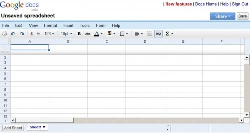 как таблицу excel сделать онлайн