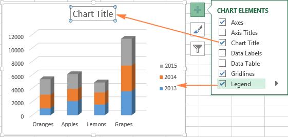 как в excel сделать график из двух таблиц
