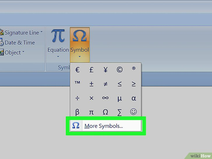 как в microsoft word сделать степень