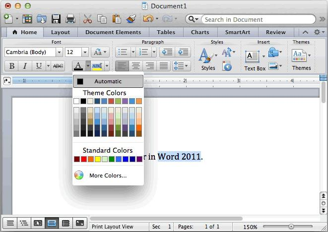 каталог как сделать в word